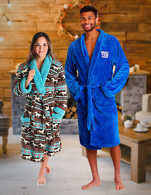 Plush Bath Robe