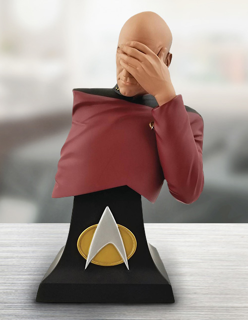 Picard Facepalm Bust
