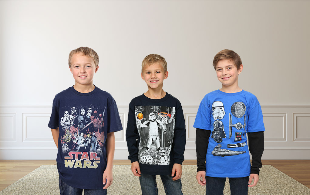 Boys' Star Wars Clothing