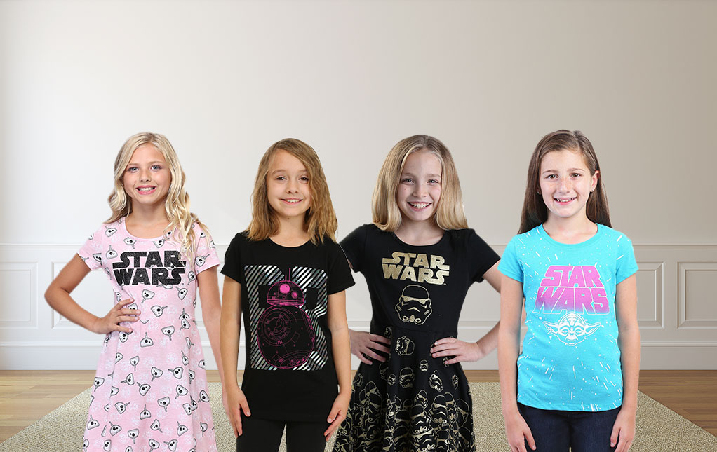 Girls' Star Wars Clothing