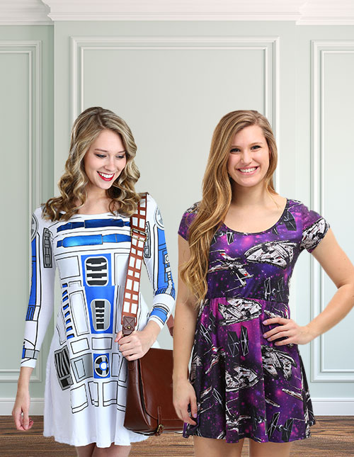 Star Wars Skater Dresses