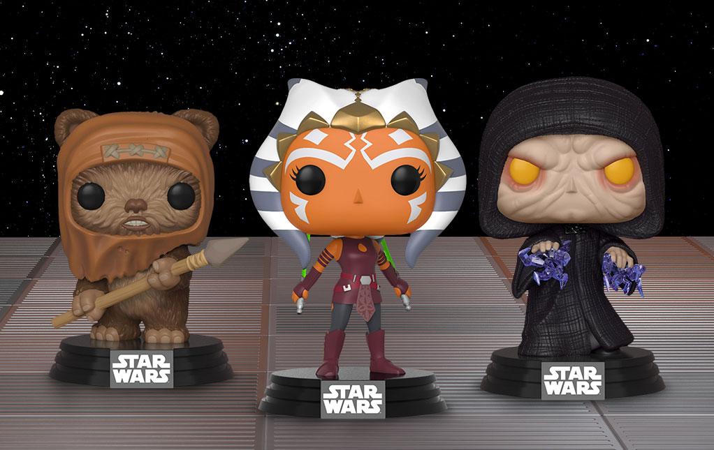 Star Wars POP! Figures