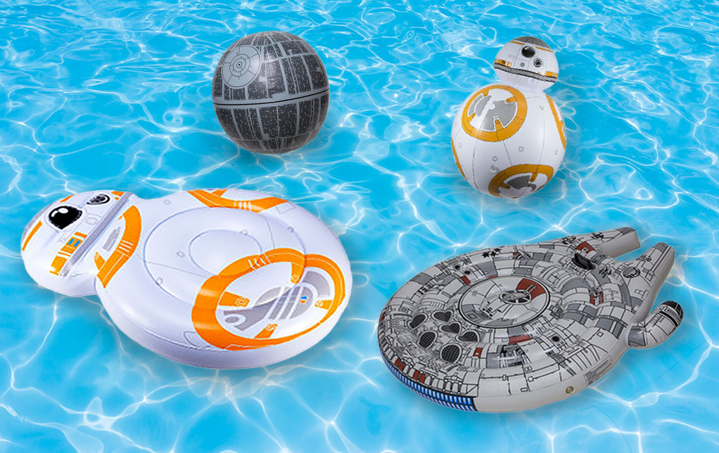 Star Wars Pool Toys