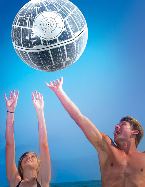Death Star Beach Ball