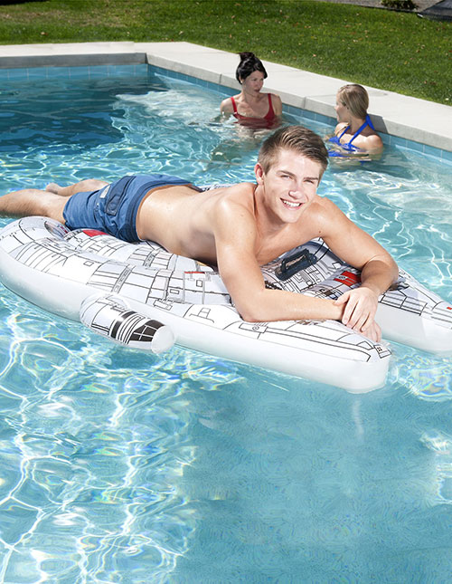 Millennium Falcon Pool Float