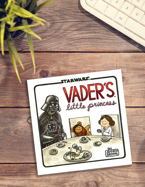 Vader's Little Princess Hardcover Book