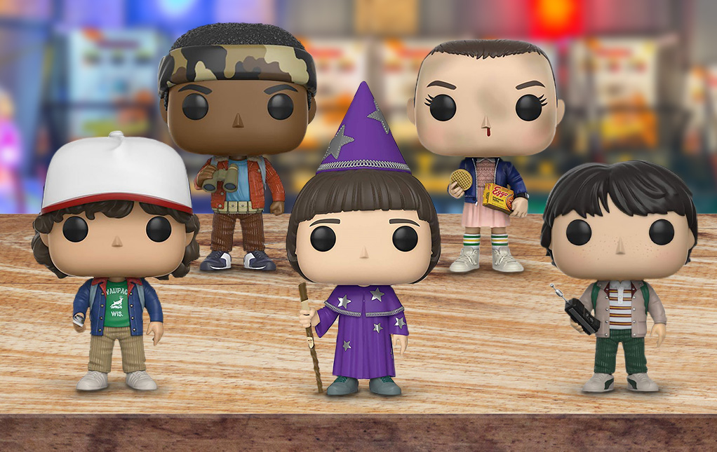Funko Pop! Stranger Things Toys and Figures