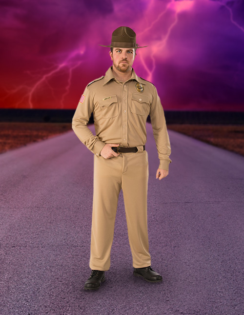 Jim Hopper Costume