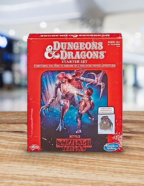 Stranger Things Dungeons & Dragons Set