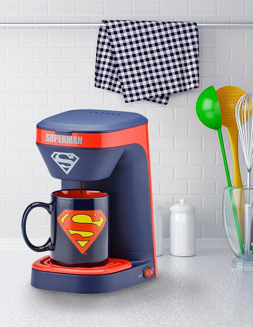 Superman Coffee Maker