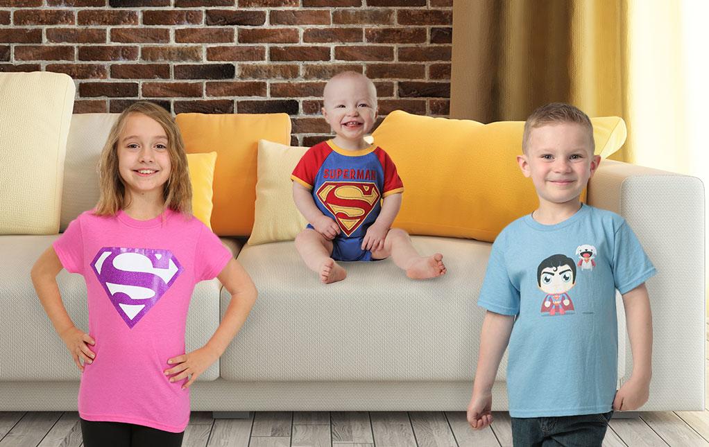 Superman Kids Clothing