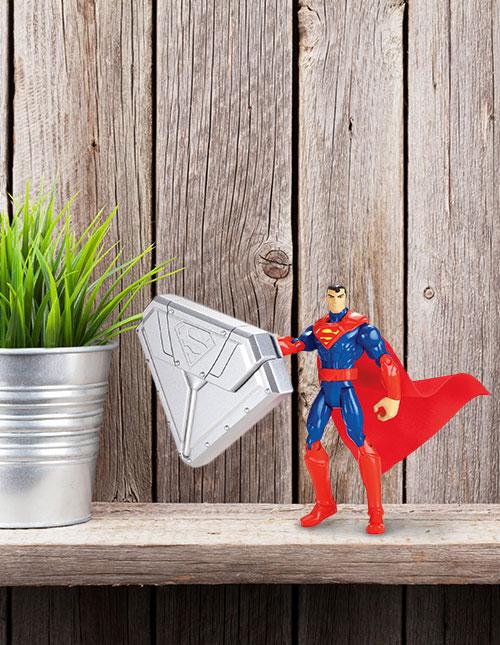 Superman Steel Shield Figure