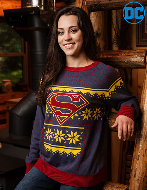 Womens Superman Clothing