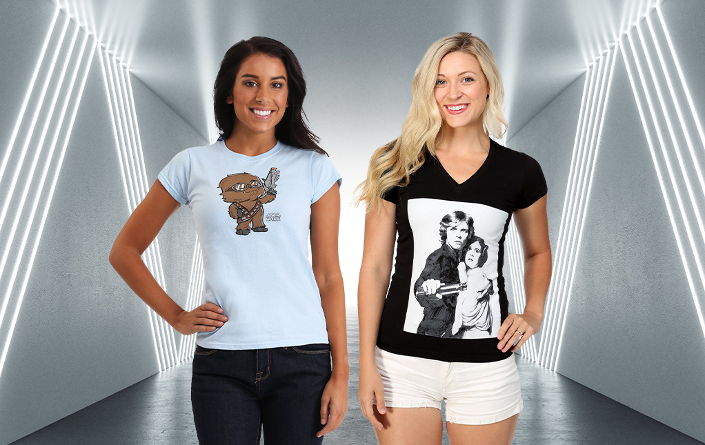 Women's Star Wars Shirts