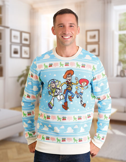 Toy Story Ugly Christmas Sweater