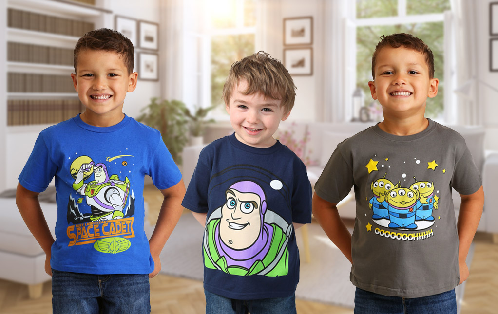Toy Story T-Shirts for Toddlers