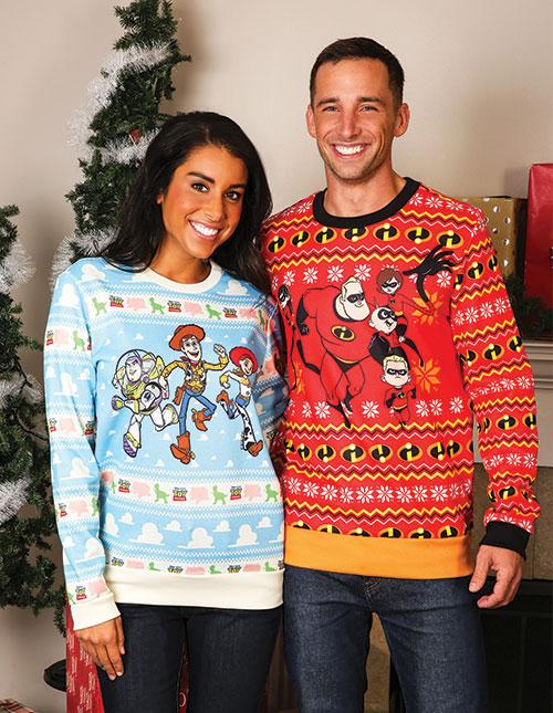 Disney Pixar Ugly Christmas Sweaters