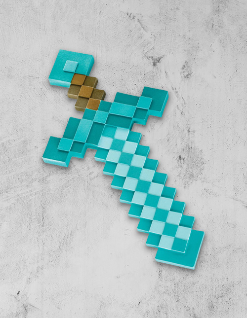 Minecraft Toy Weapons
