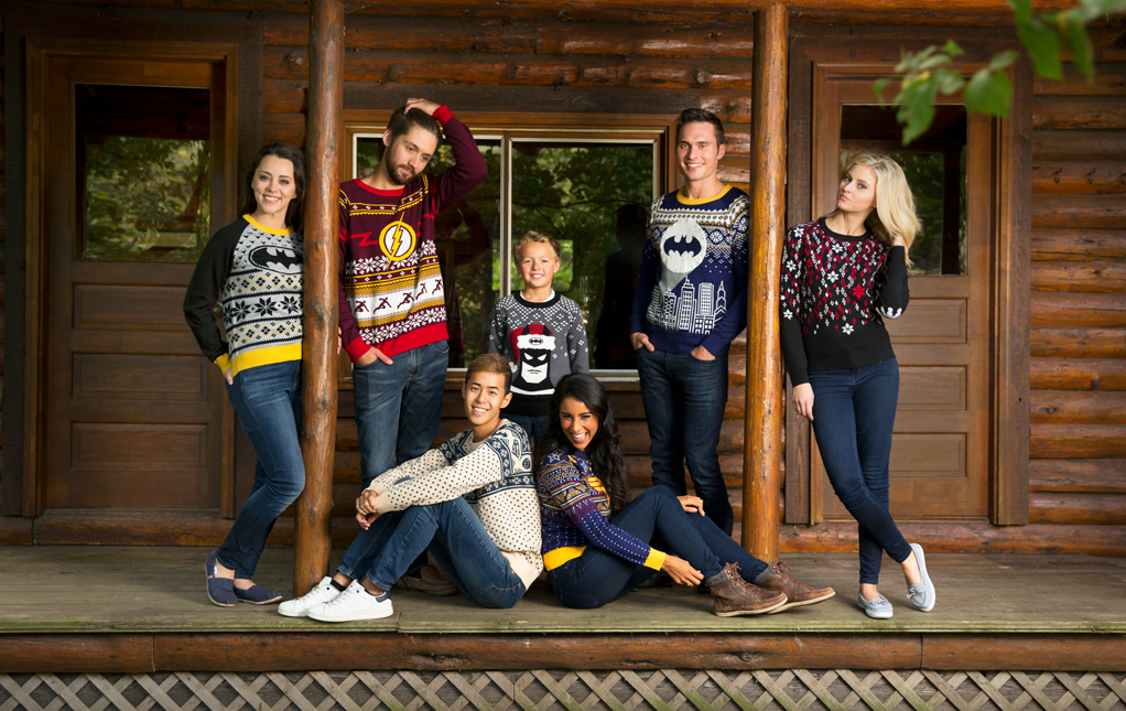 Batman Ugly Christmas Sweaters
