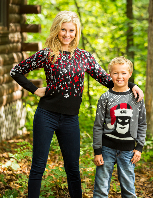 Ugly Christmas Sweaters for Kids and Moms