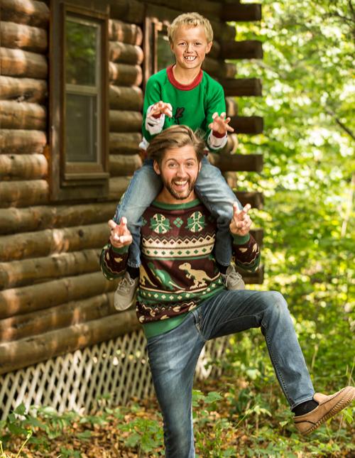 Dinosaur Ugly Christmas Sweaters