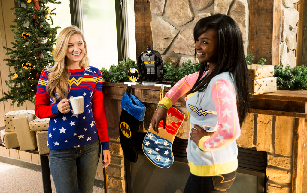 Wonder Woman Ugly Christmas Sweaters