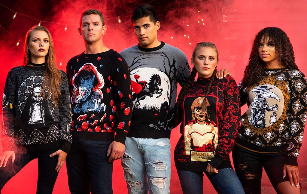 Halloween Christmas Sweaters