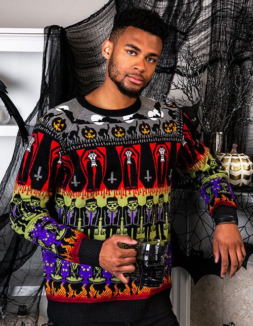 Vintage Halloween Sweaters