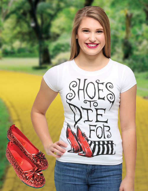 Wizard of Oz Shirts for Women