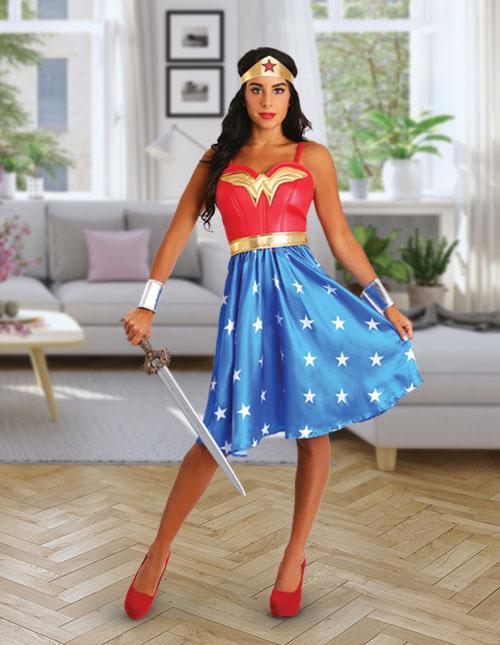 05da02e3e0440 Wonder Woman Clothing for Women & Girls