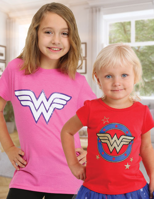 Girls' Wonder Woman T-Shirts