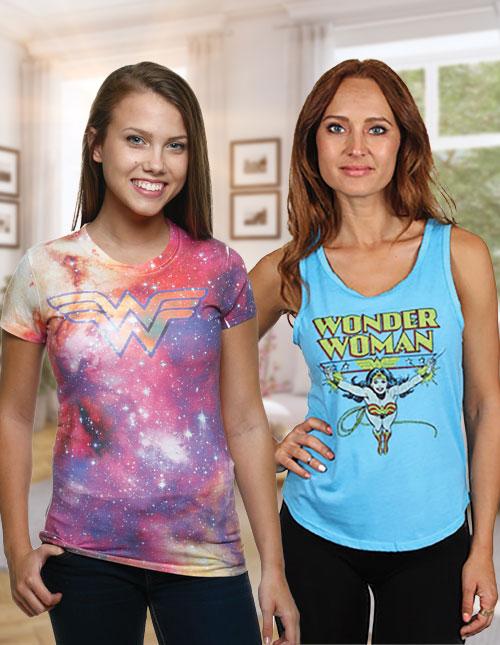 Women's Wonder Woman Shirts