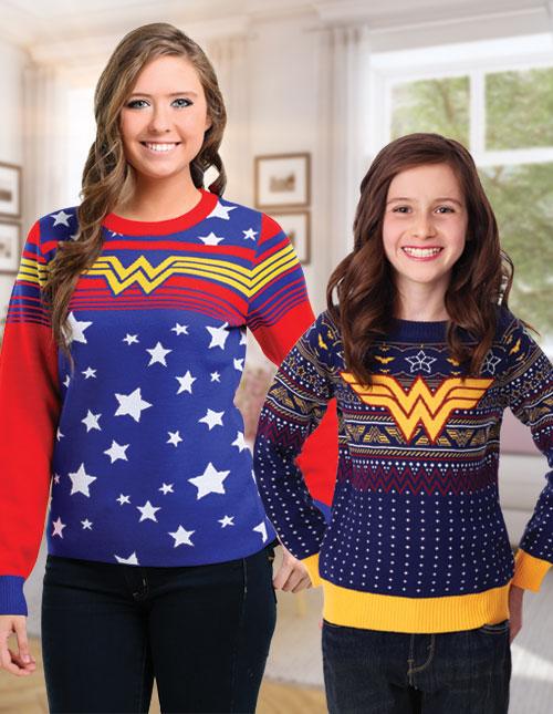 Wonder Woman Sweaters