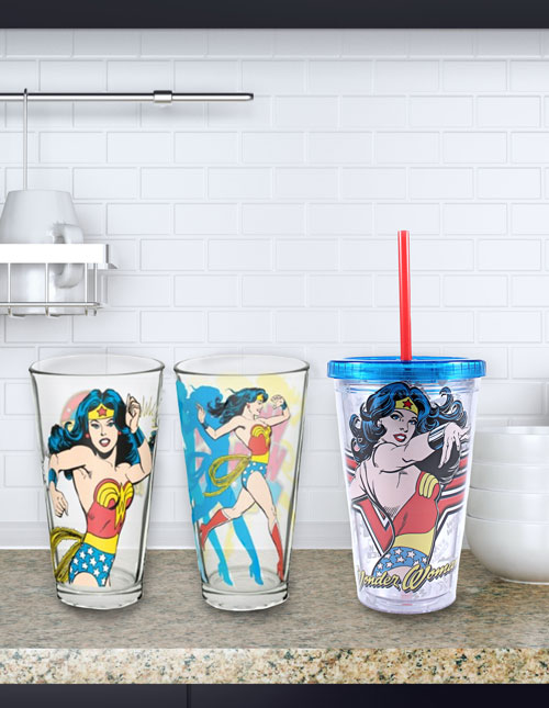 Wonder Woman Cups