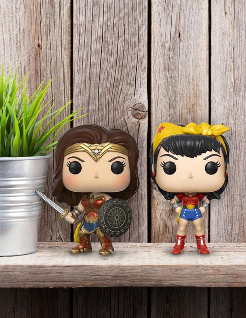 Wonder Woman Funko Pops