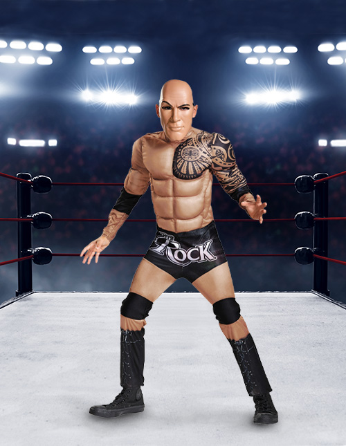 The Rock Wrestling Outfit