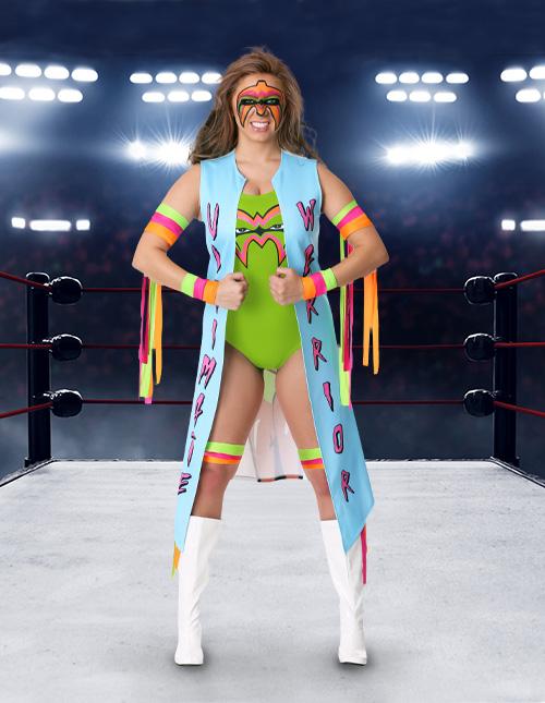 Women's Ultimate Warrior Costume