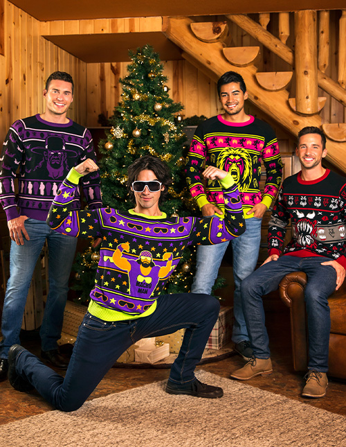WWE Christmas Sweaters