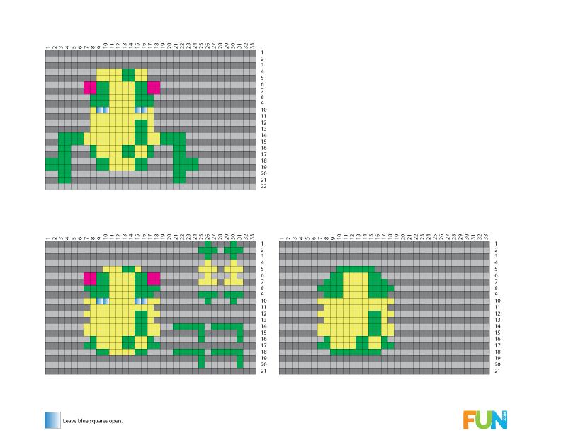 8(bit) Free 3D Perler Bead Patterns [Printables] - Fun Blog