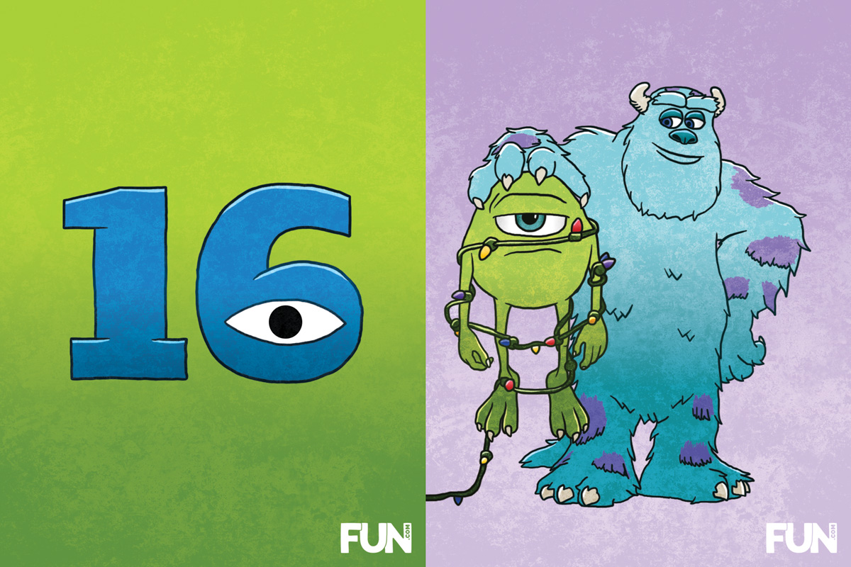 16. Monsters, Inc.