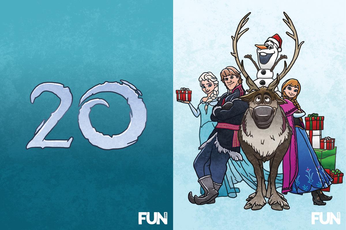 20. Frozen