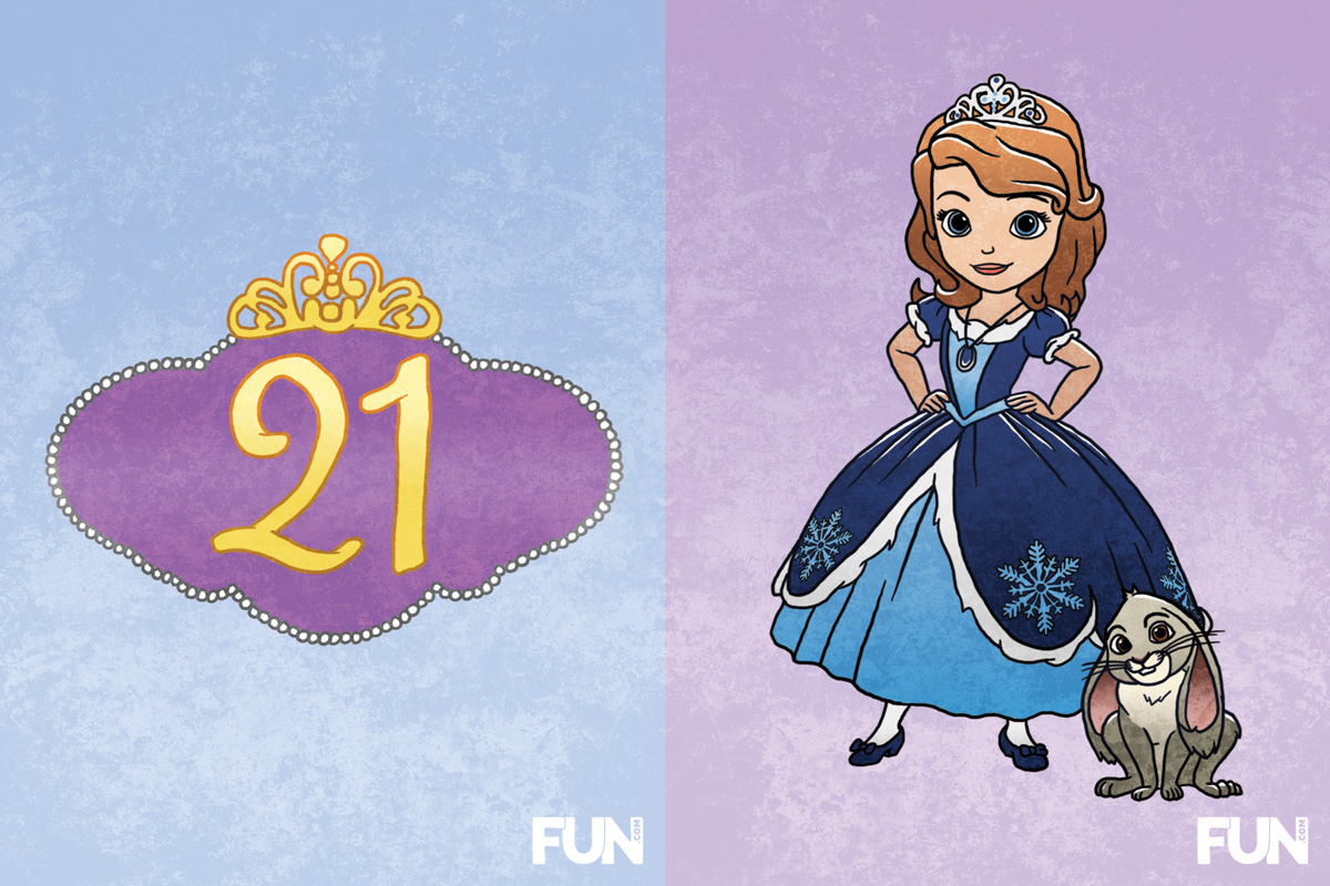 21. Sofia the First