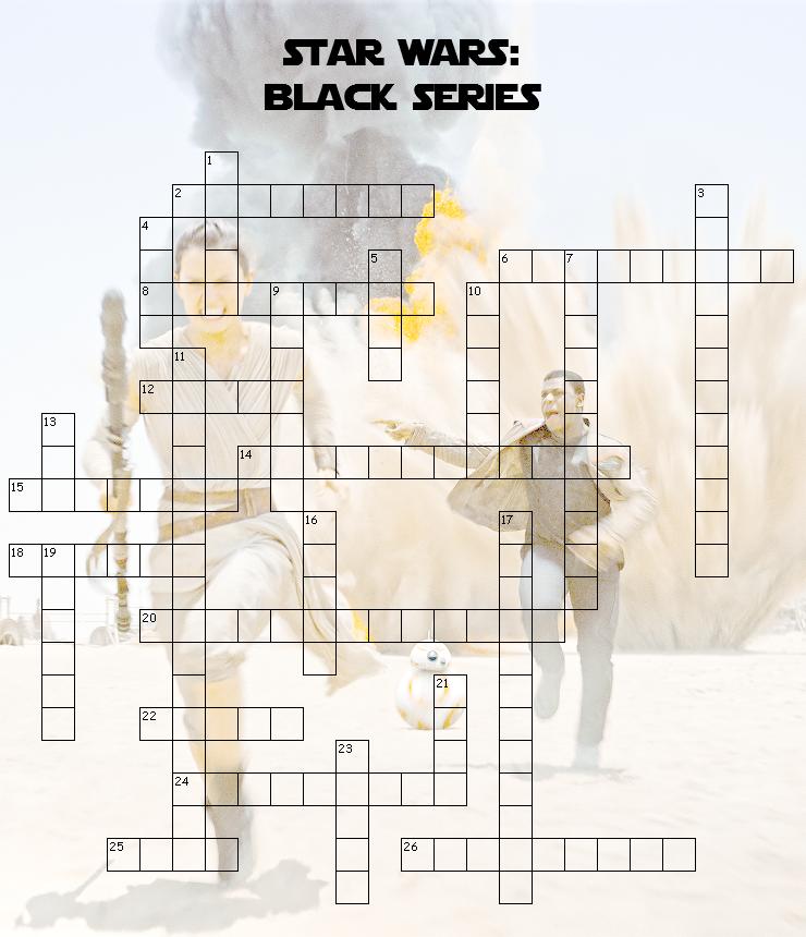 star wars black series crossword puzzle fun blog. Black Bedroom Furniture Sets. Home Design Ideas