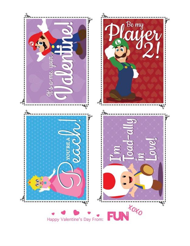 Mario, Luigi, Peach, and Toad