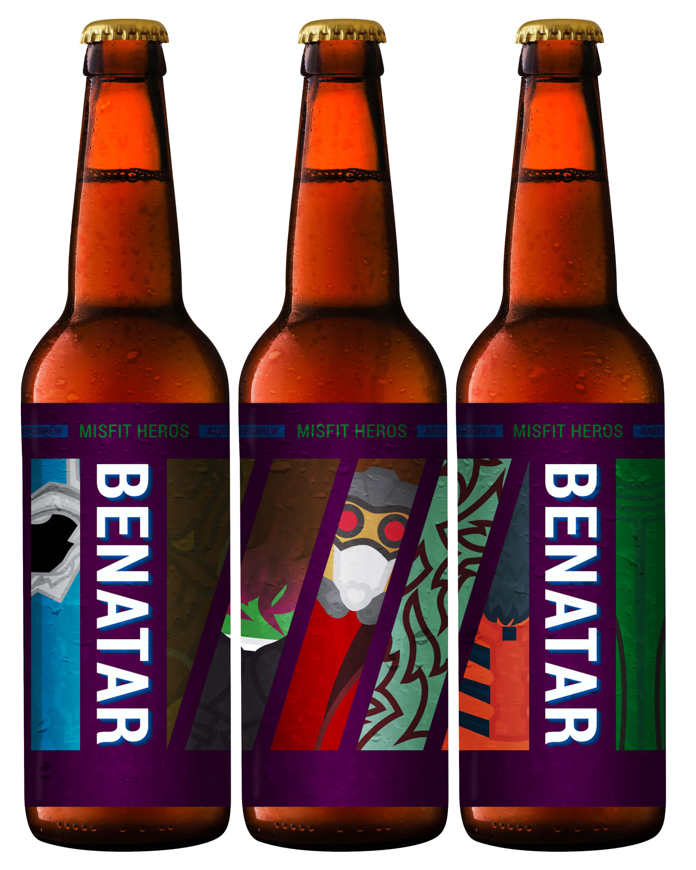 Avengers Brew: Benatar Printable Beer Label