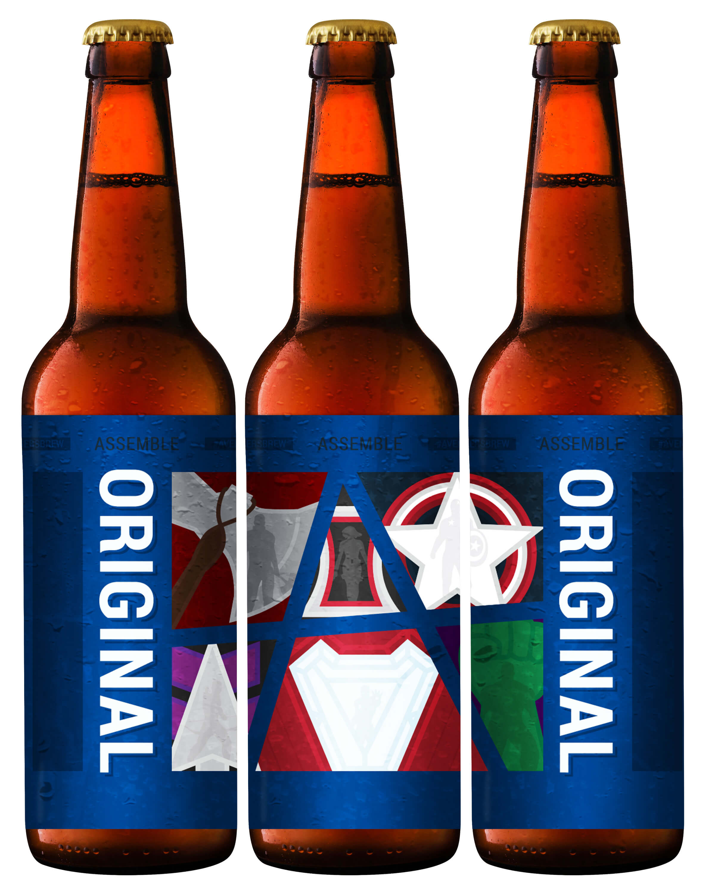 image about Printable Beer Labels named 12 Avengers Beer Labels for a Surprise-ous Endgame Visiting