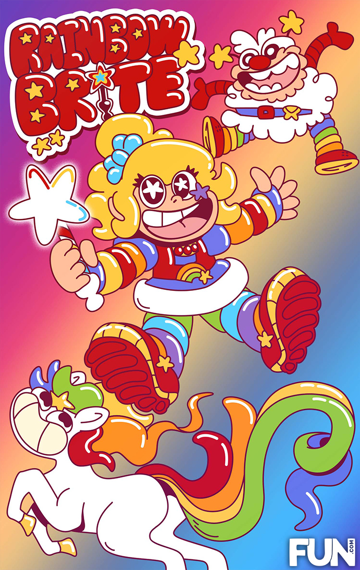 Rainbow Brite Bad Character Redesign