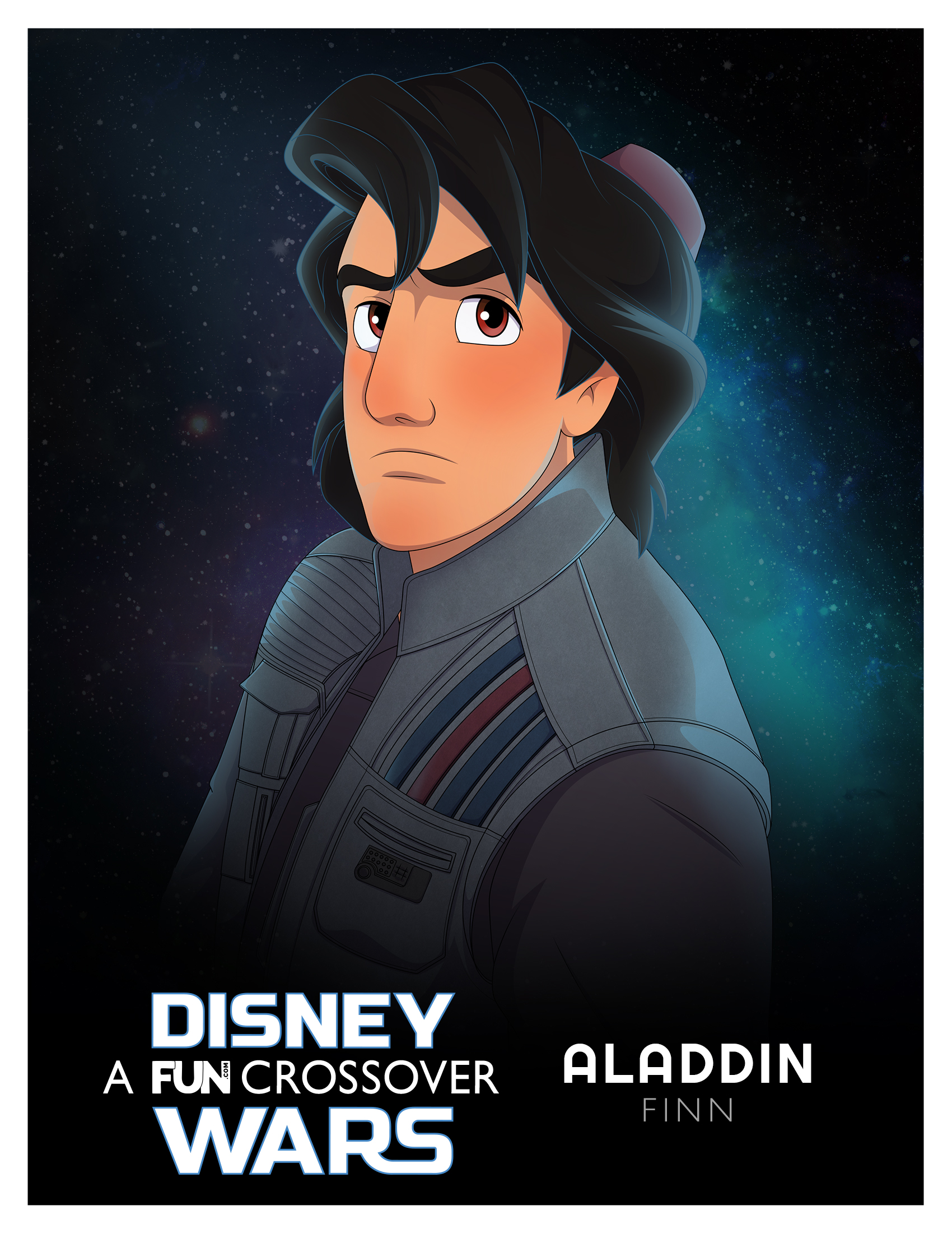 Disney Wars Aladdin Finn
