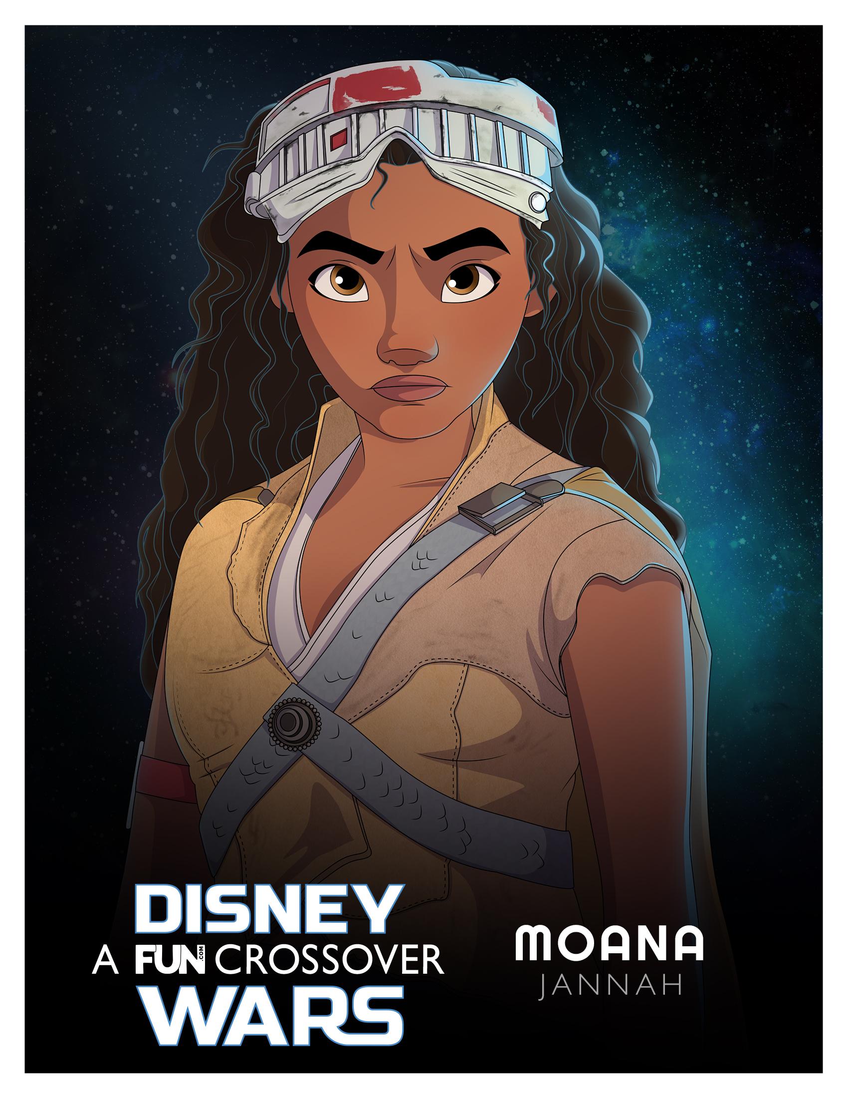Disney Wars Moana Jannah