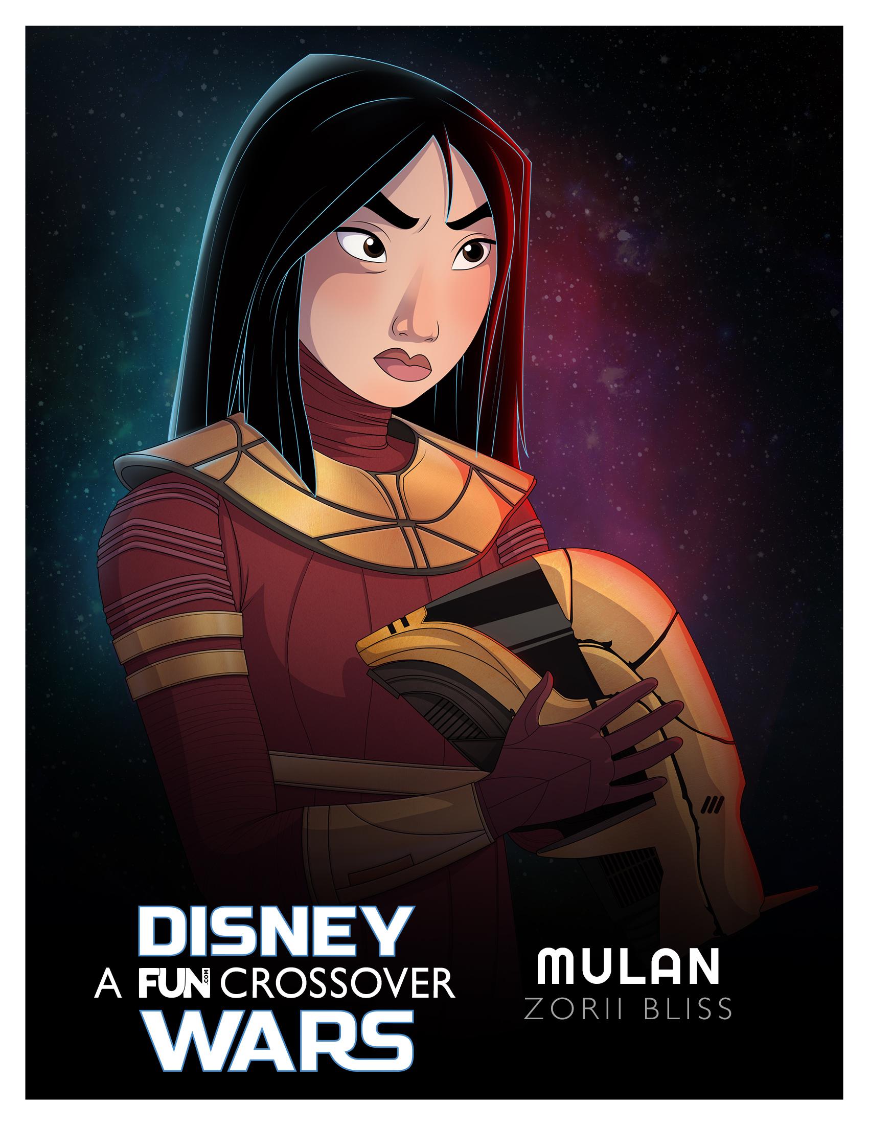 Disney Wars Mulan Zorii Bliss